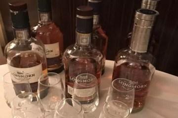 Longmorn single malt whisky