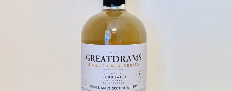 GreatDrams BenRiach 5 Year Old