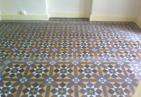 Outward Bound Victorian Floor Before