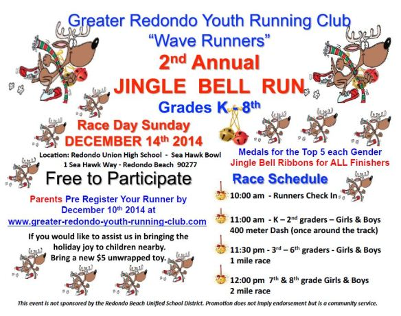 GRYRC Wave Runners Jingle Bell Run 2014