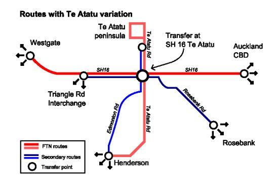 Te Atatu Routes