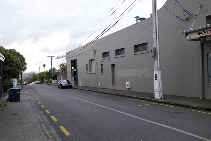 Summer St, just off Ponsonby Rd