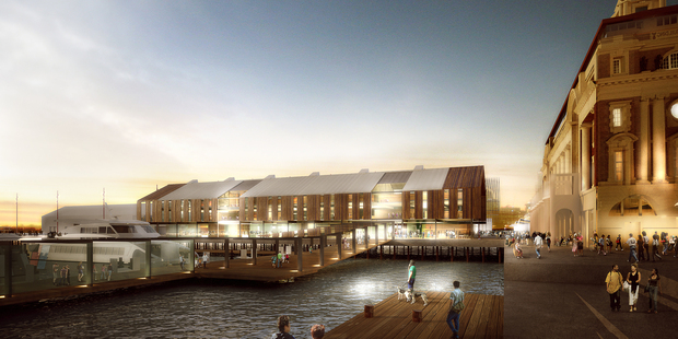 Queens Wharf commercial proposal