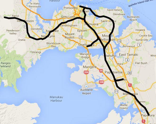 Auckland Rail Network