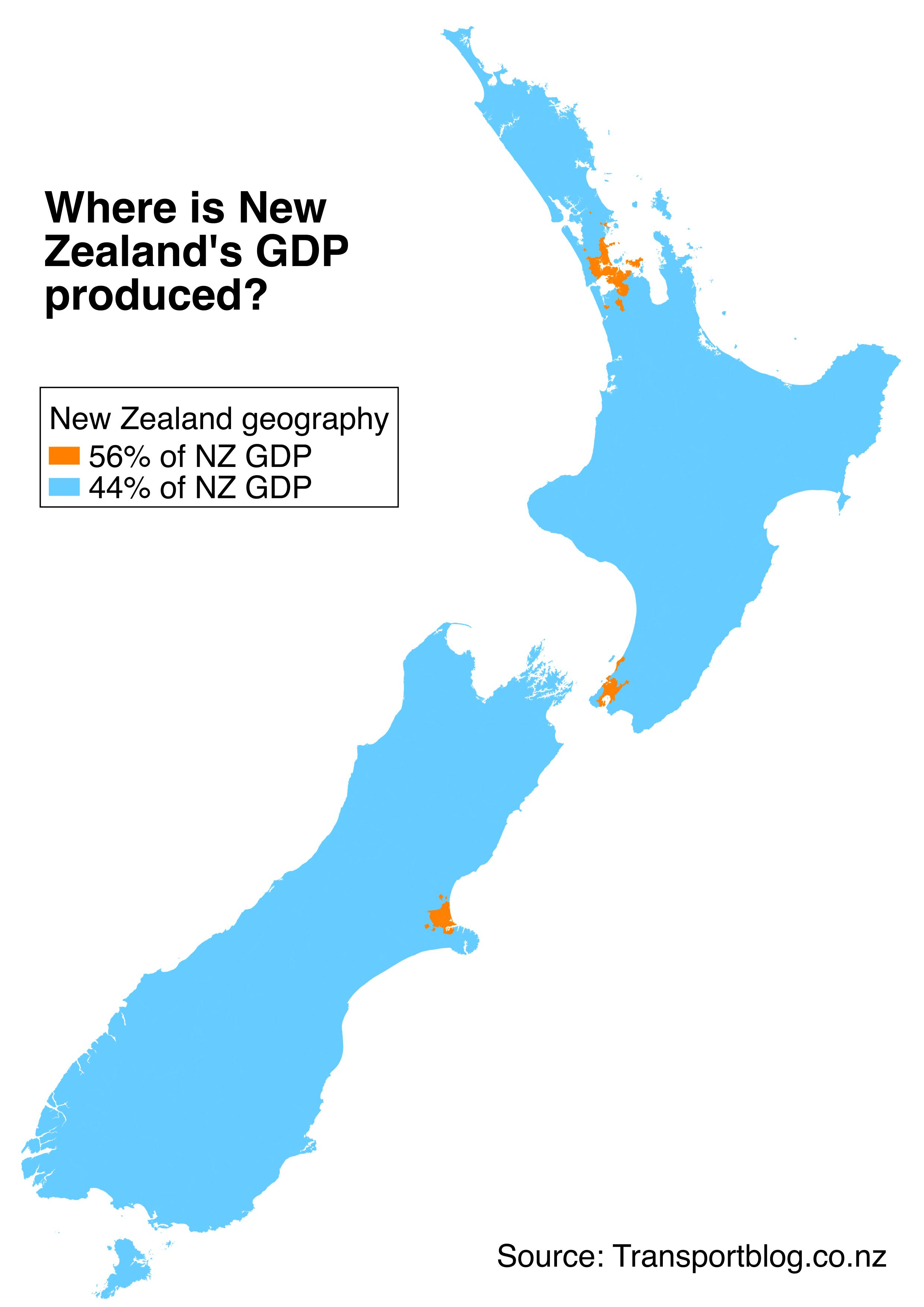 City Map Of New Zealand.Where Does The New Zealand Economy Happen Greater Auckland