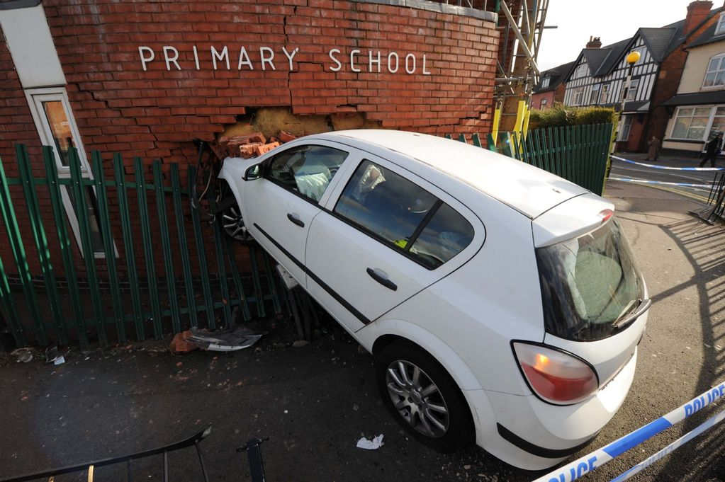 Better to hit a tree than a primary school?