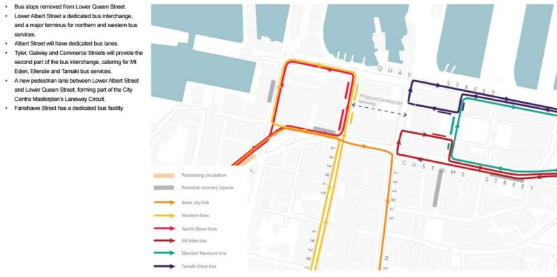 Downtown Bus Routes post CRL