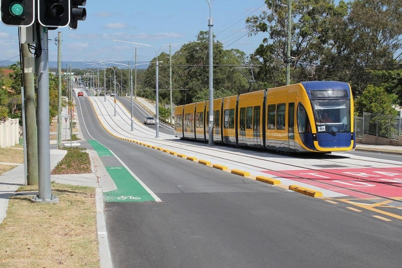 Light Rail In Gold Coast