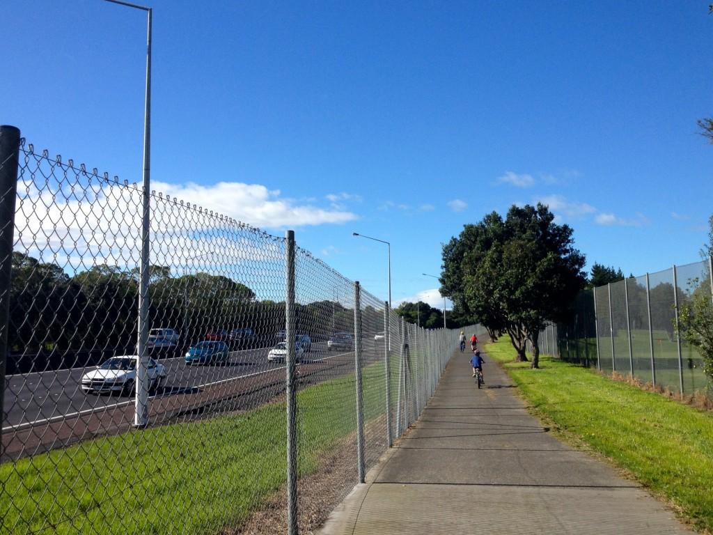 CAA NW Cycleway Chamberlain Park