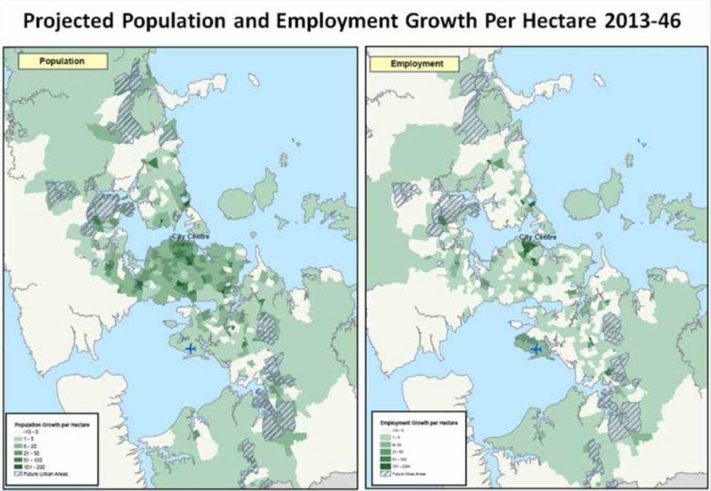 ATAP - Population growth to 2046