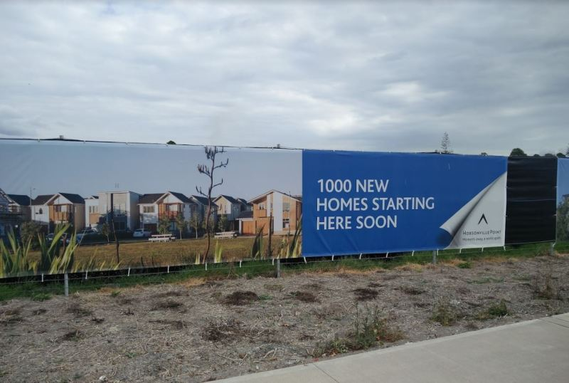 Hobsonville Point - new homes advertising