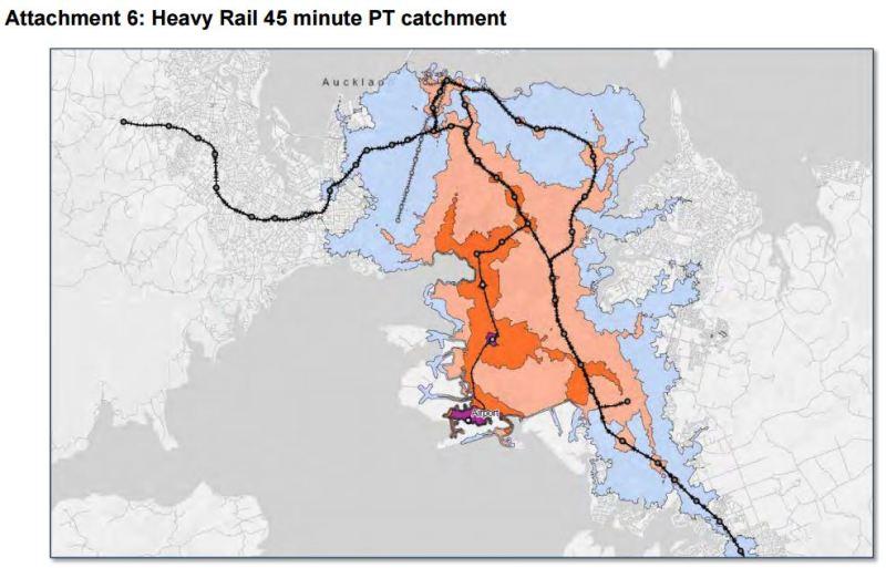Light-Heavy Rail - Heavy 45min Accessibility to Airport