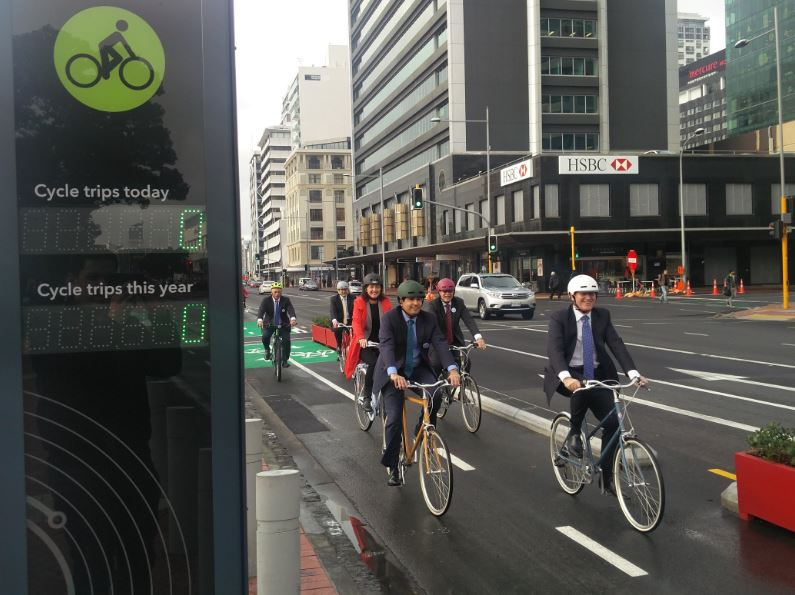 Quay St Cycleway Opening 2