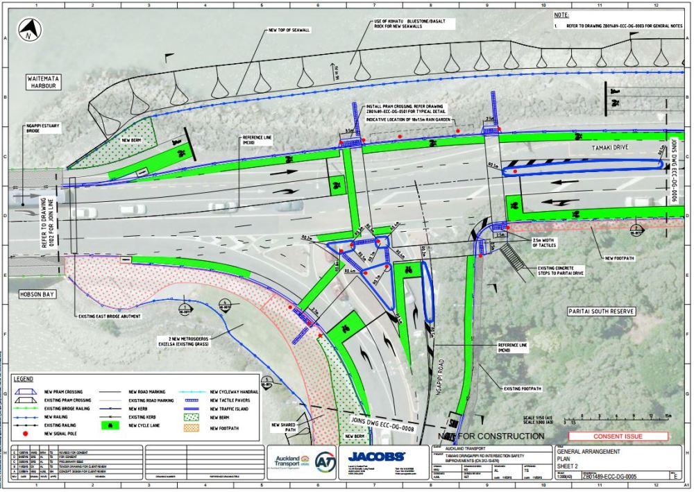 Tamaki-Ngapipi Intersection Consent Plan