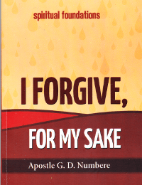 Apostle Geoffrey Dabibi Numbere I Forgive For My Sake _ 200 x 260