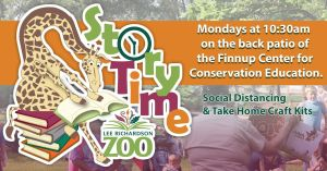 Story Time at Lee Richardson Zoo @ Finnup Center for Conservation Education