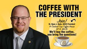 Coffee with the President @ Central Cup Coffee House