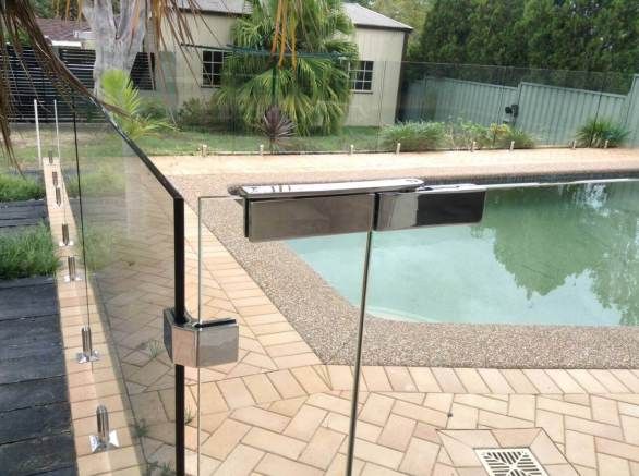 pool fencing fixed