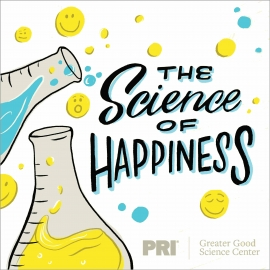 science of happiness podcast logo