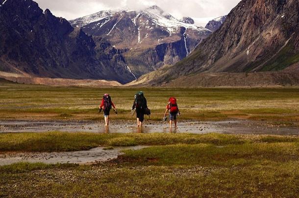 mountain walk