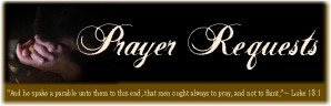 Prayer Requests & Praise Reports!