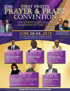 2018 First Fruits Prayer & Praise Convention