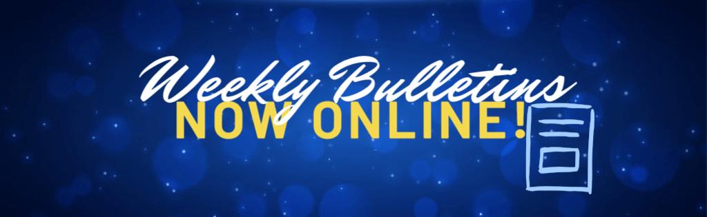 GGT weekly online bulletins