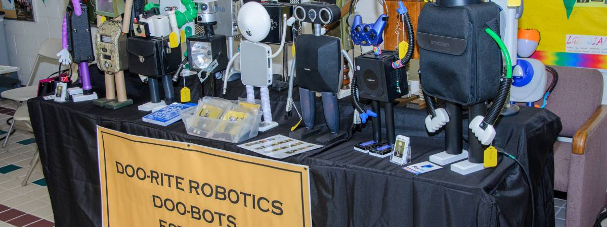 2017 Hartford Mini Maker Faire Robots