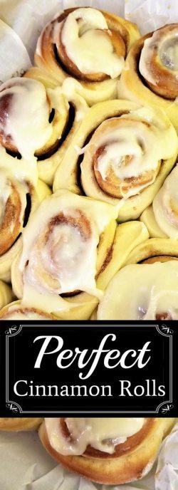 Perfectly Perfect Cinnamon Rolls