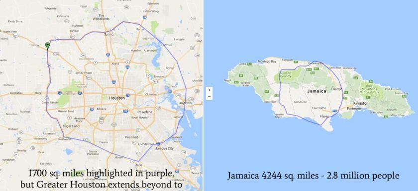 Houston vs. Jamaica