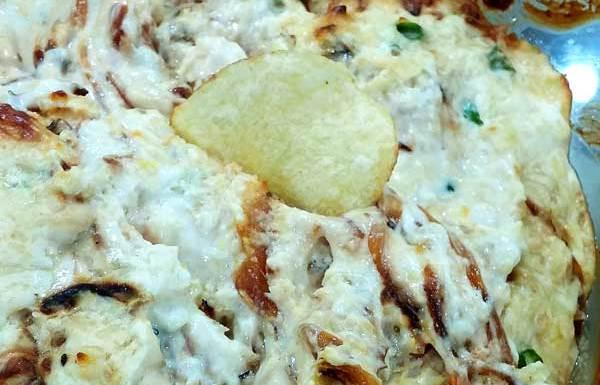 Hot-Onion-Cheese Dip