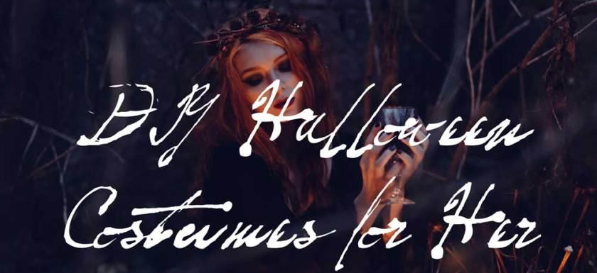 DIY Halloween Costumes for Her