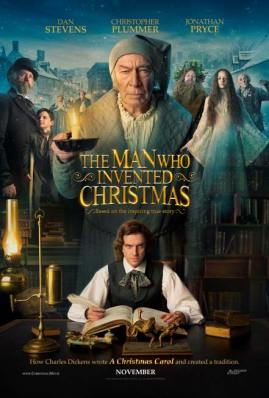 The Man Who Invented Christmas Movie Poster