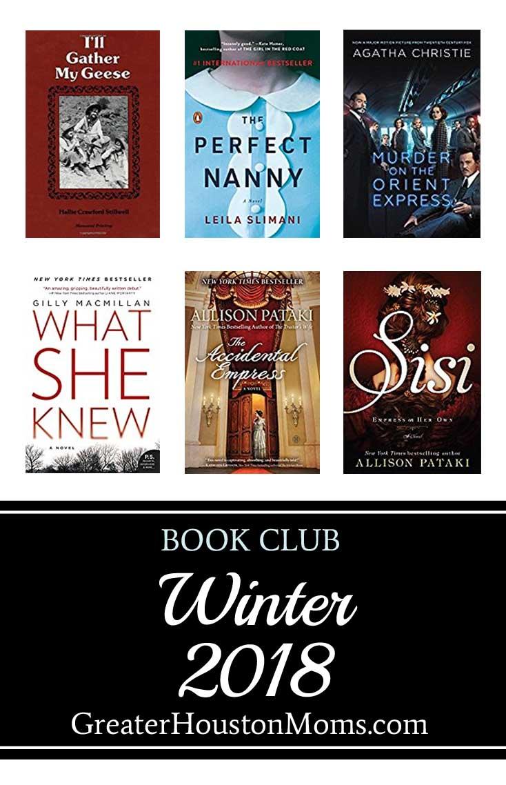 GHM Winter 2018 Book Club