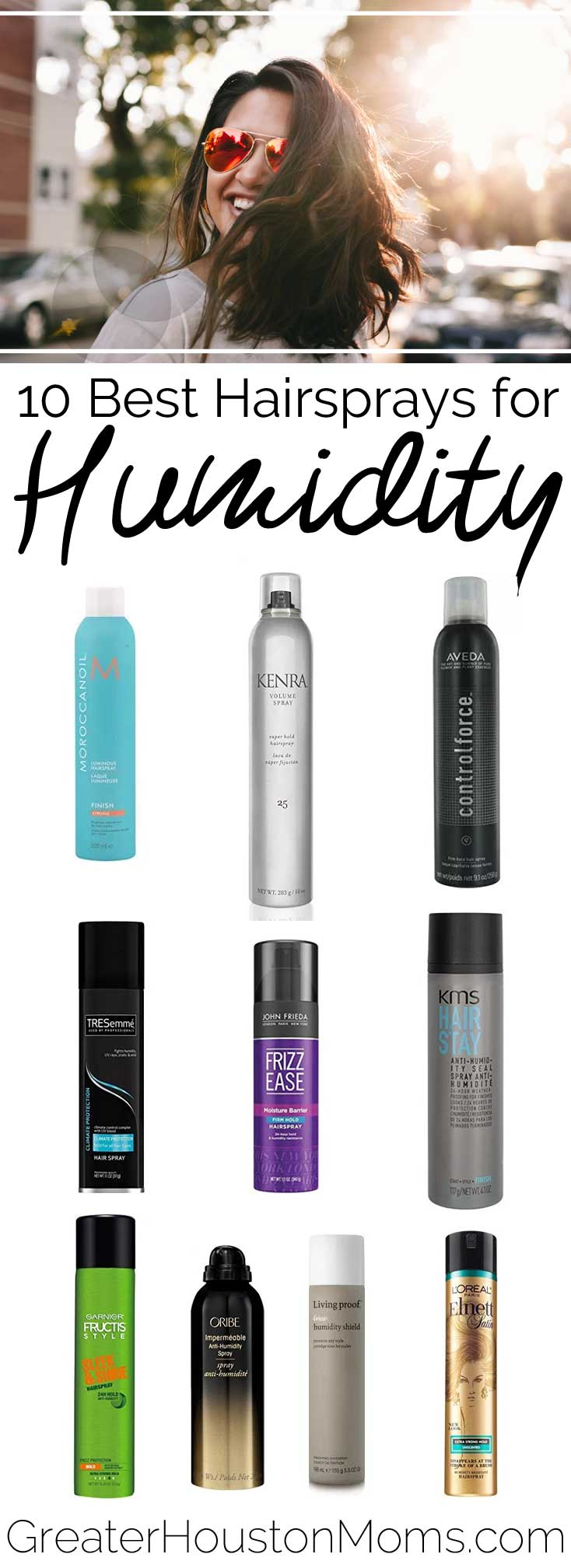 10 Best Hairsprays for Houston Humidity