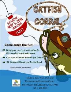 Catfish Corral: Pond Stocking Event! @ Sheldon Lake State Park & Environmental Learning Center  | Houston | Texas | United States