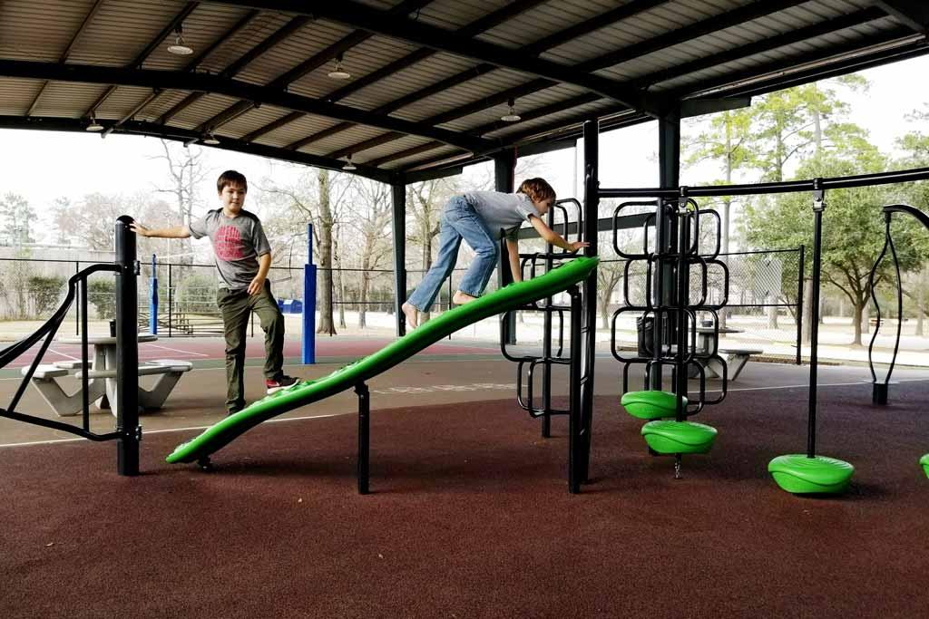 Collins Park Ninja Course