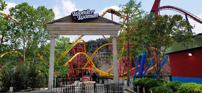 Six Flags Fiesta Texas Wonder Woman
