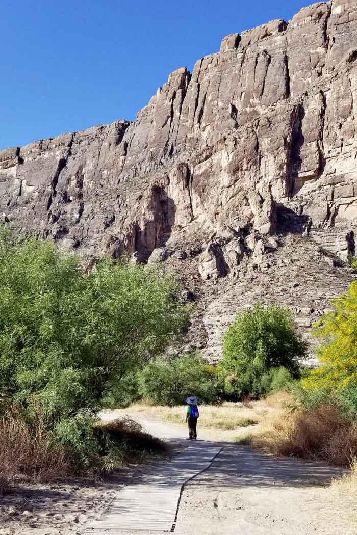 Santa Elena Canyon Trail