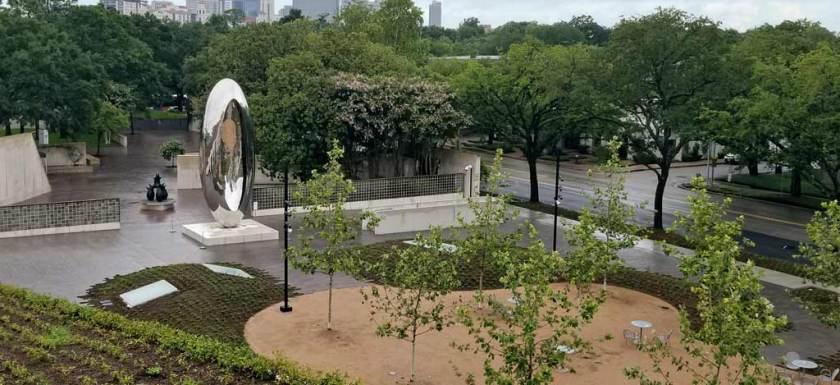 MFAH Cloud Column Plaza Houston TX