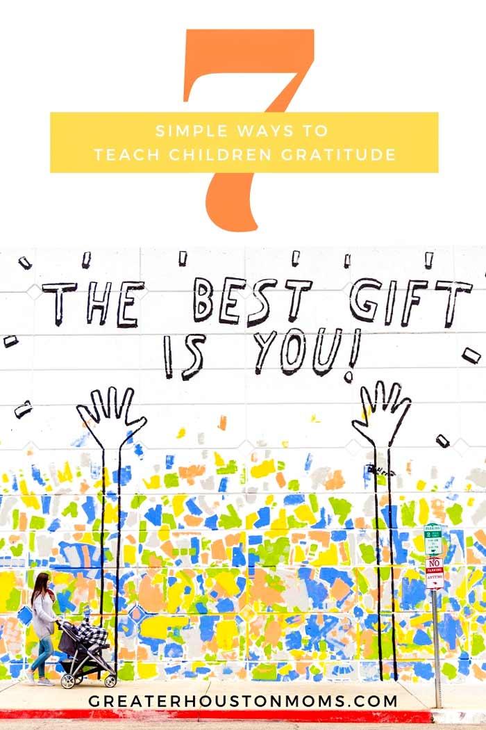 Teach Children Gratitude