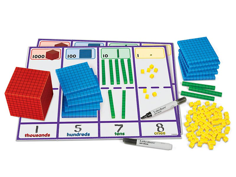 Lakeshore Learning multicolored Place Value Activity Set