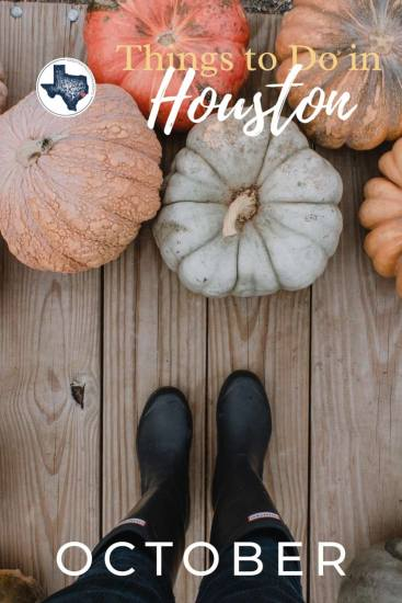 Things to do in Houston this October
