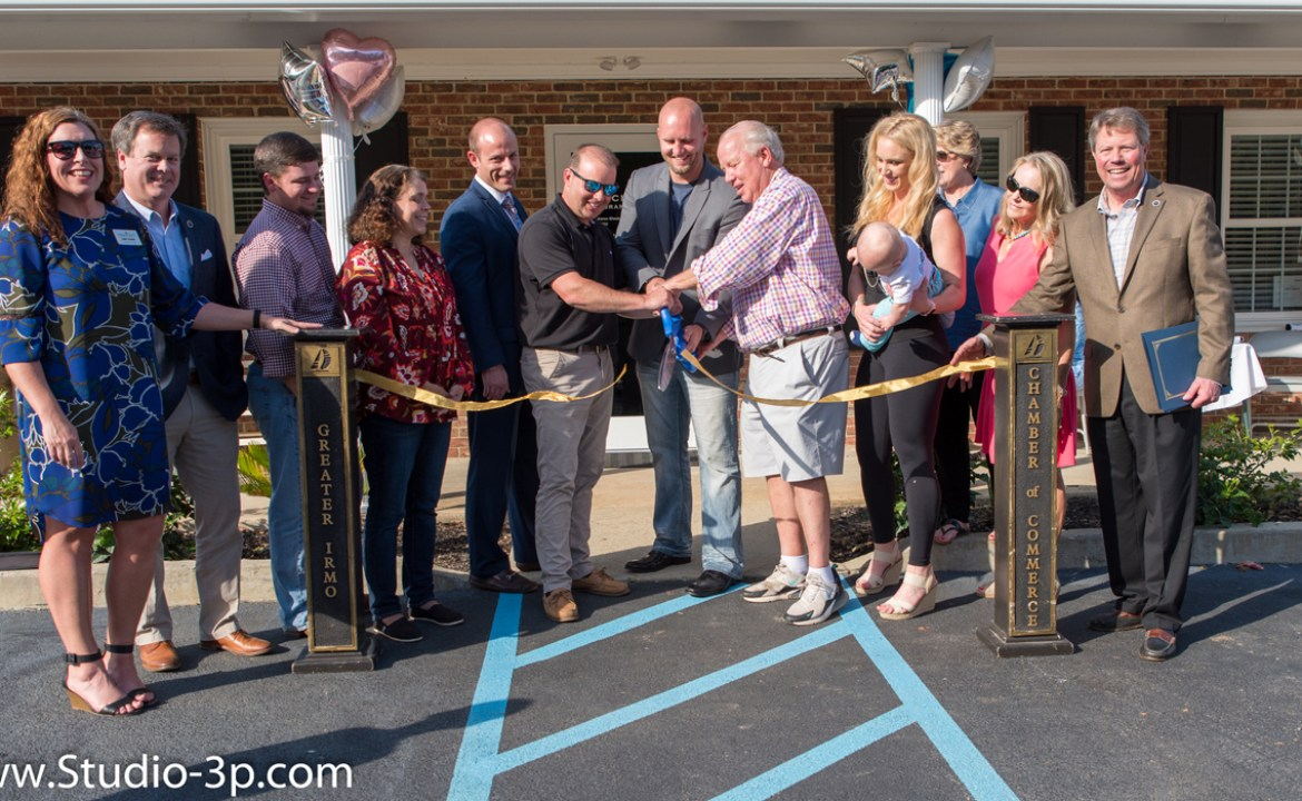 Ballentine Ribbon Cutting