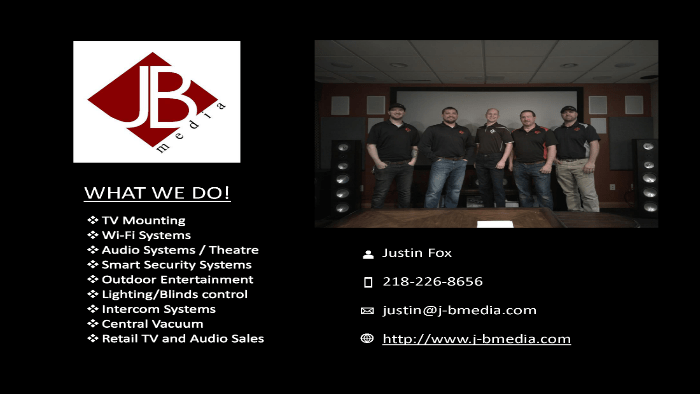 JB Media Ad Justin Fox