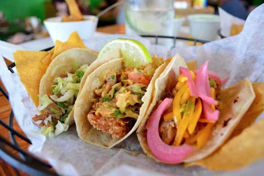 Tacos at Swell Taco