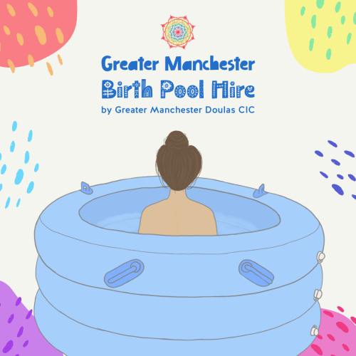 greater manchester birth pool hire