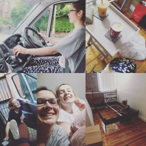 amy moving house collage