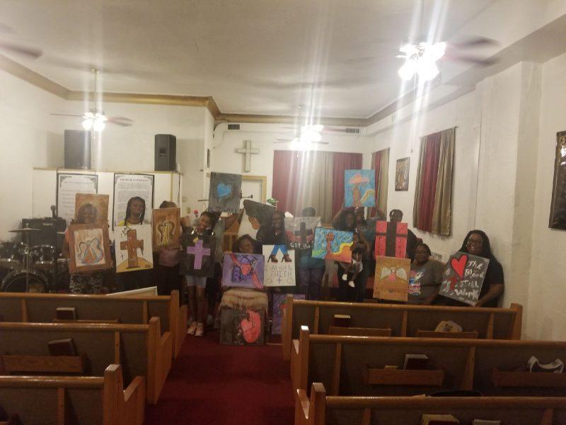 GSJFGBC Womens Paint Night