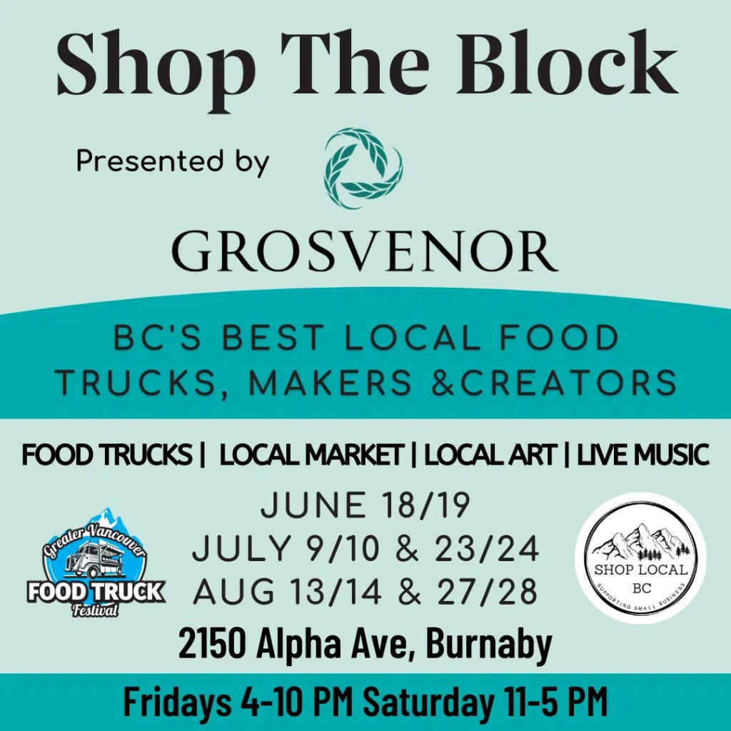 Shop The Block Brentwood Outdoor Market and Food Truck Festival